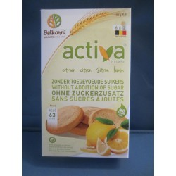 Activa biscuits citron