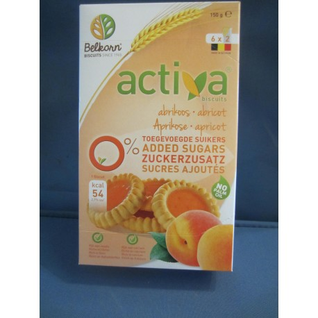 activa biscuits abricots