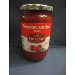 Tomates entières pelées bio 400gr