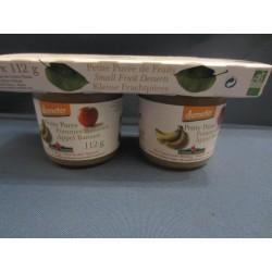 petite purée de fruits 2x 110gr