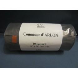 Sacs poubelles gris Arlon